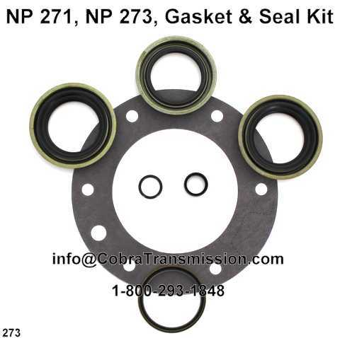 NP 271, NP 273, Gasket & Seal Kit