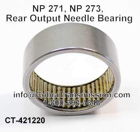 NP 271, NP 273, Rear Output Needle Bearing