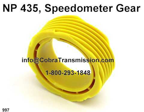 NP 435, Speedometer Gear
