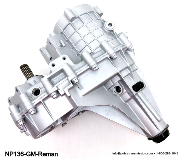 NP136 GM Transfer Case Remanufacted