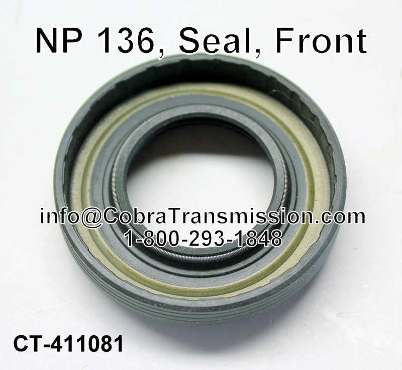 NP 136, Seal, Front