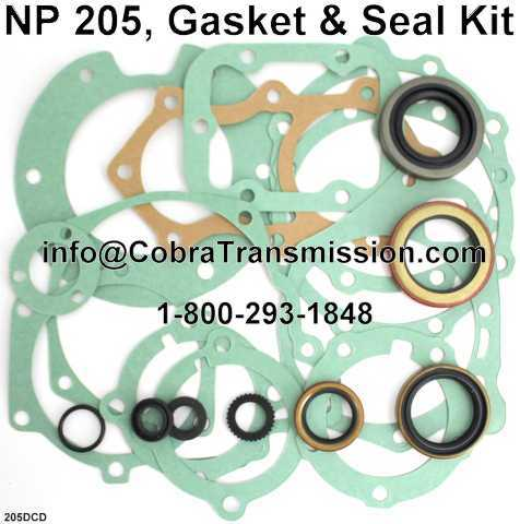NP 205, Gasket & Seal Kit