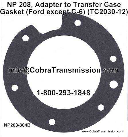 NP 208, Adapter to Transfer Case Gasket