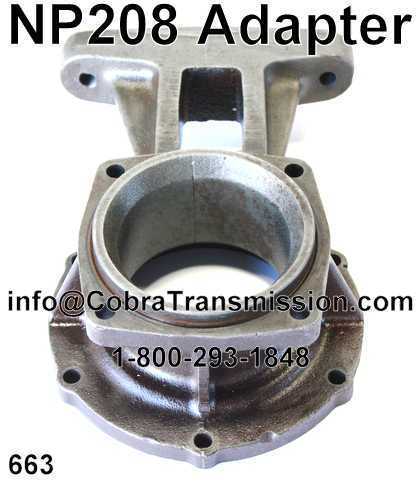 NP 208, Adapter to Transfer Case Gasket [331304A] - $0 99