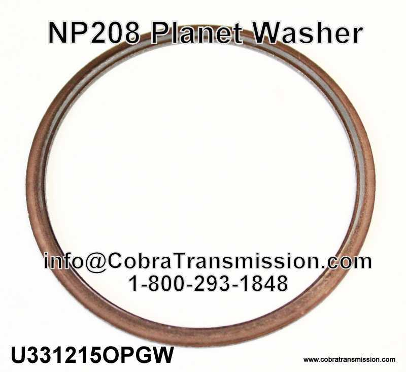NP 208 Planet Washer
