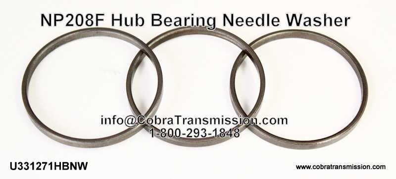 NP 208F Hub Bearing Needle Washer