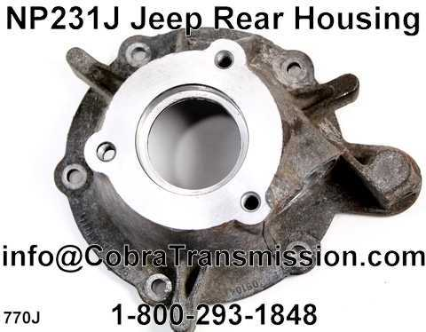 NP231J Jeep Rear Housing