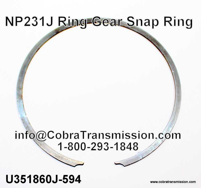 NP231J Ring Gear Snap Ring