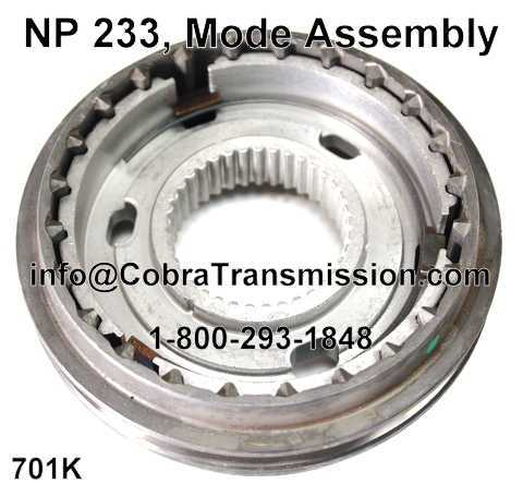 NP 233, Mode Assembly