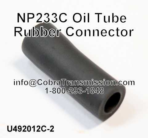 NP233C Oil Tube Rubber Connector