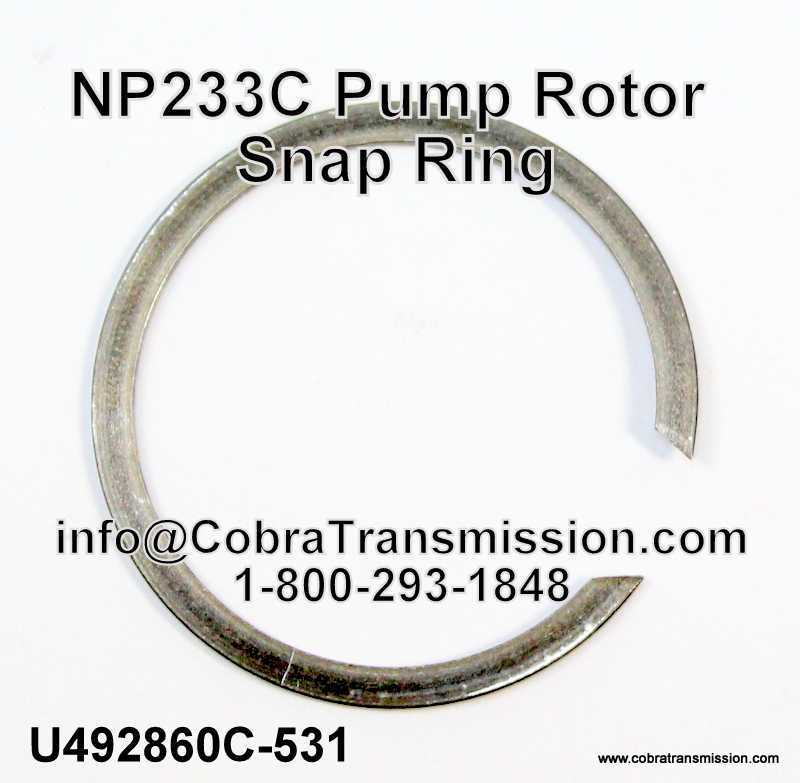 NP233C Pump Rotor Snap Ring