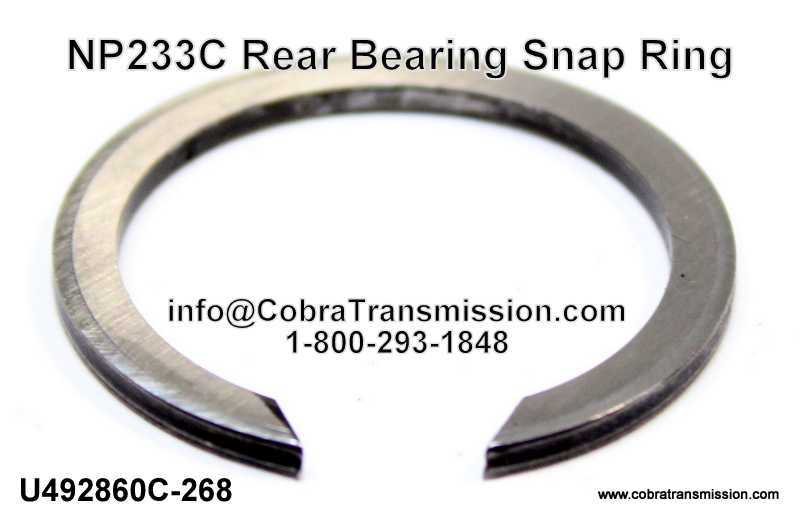 NP233C Rear Bearing Snap Ring