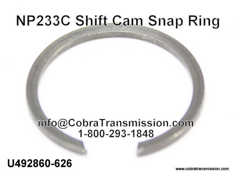 NP233C Shift Cam Snap Ring