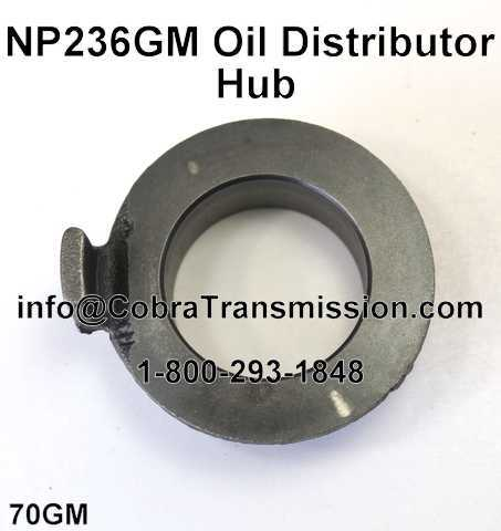 NP236GM Oil Distributor Hub