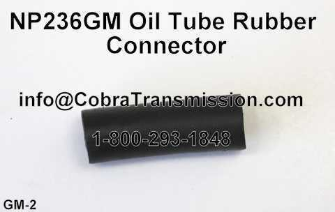 NP236GM Oil Tube Rubber Connector