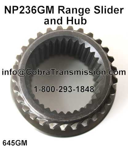 NP236GM Range Slider and Hub