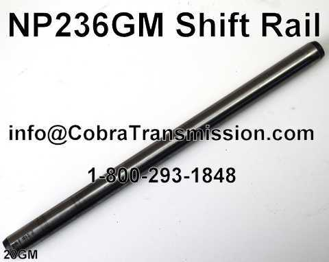 NP236GM Shift Rail