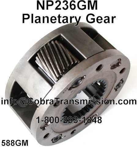 NP236GM Planetary Gear