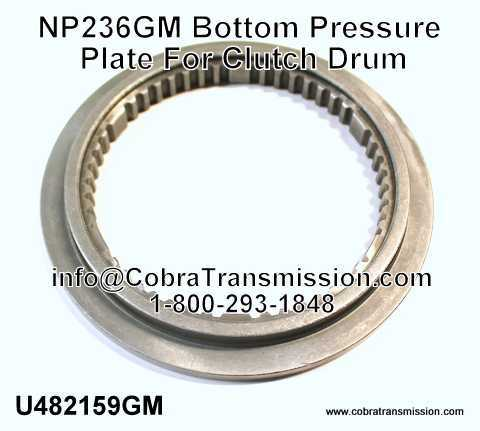 NP236GM Bottom Pressure Plate For Clutch Drum