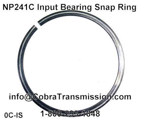 NP241C Input Bearing Snap Ring
