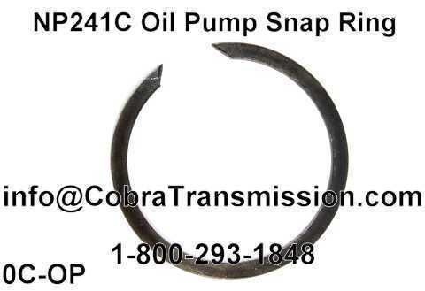 NP241C Oil Pump Snap Ring