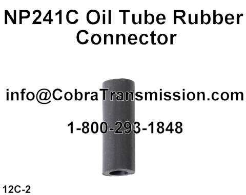 NP241C Oil Tube Rubber Connector