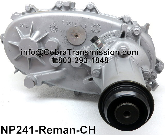 NP241C Transfer Case Reman - UJoint