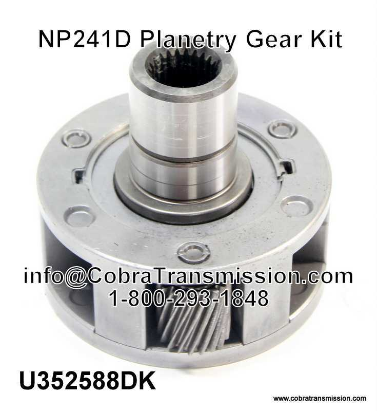 NP241D Planetry Gear Kit