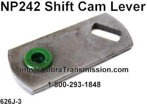NP242 Shift Cam Lever