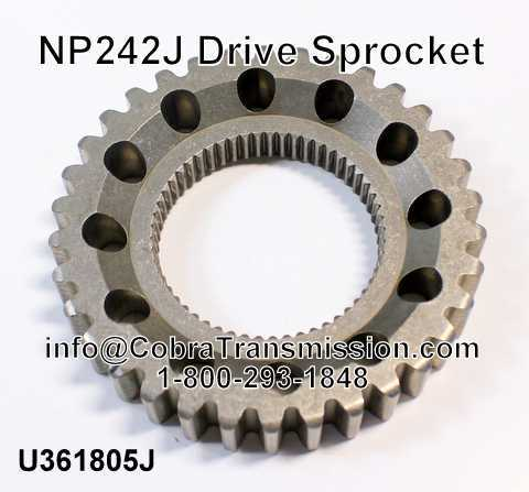 NP242J Drive Sprocket