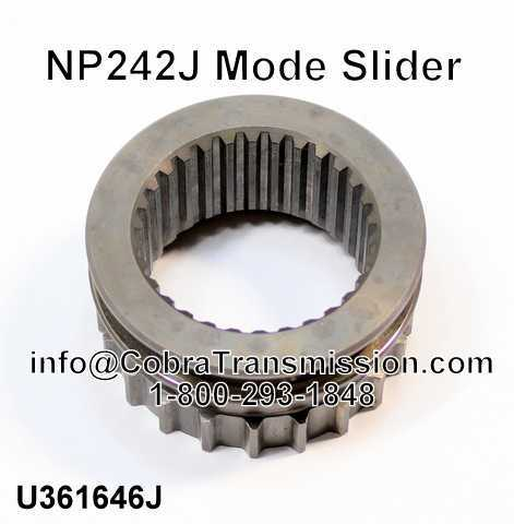 NP242J Mode Slider