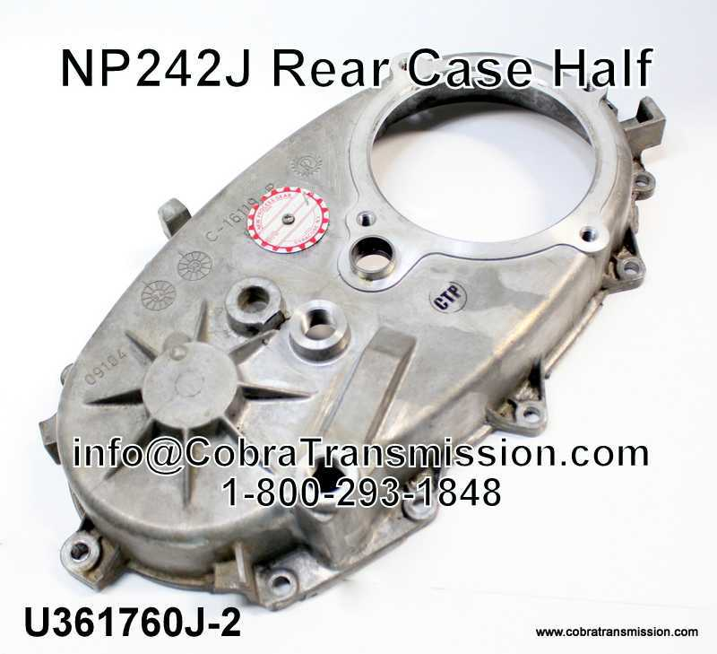 NP241C Rear Case Half - C-16119P