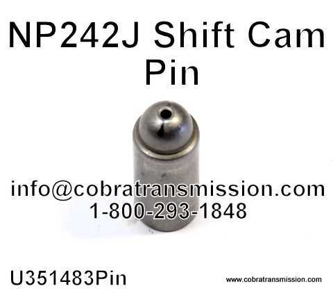NP242J Shift Cam Pin