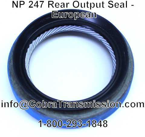 NP 247 Rear Output Seal - European