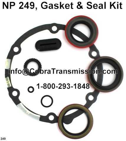 NP 249, Gasket & Seal Kit