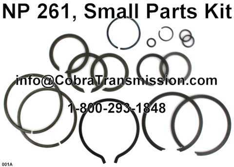 NP 261, Small Parts Kit