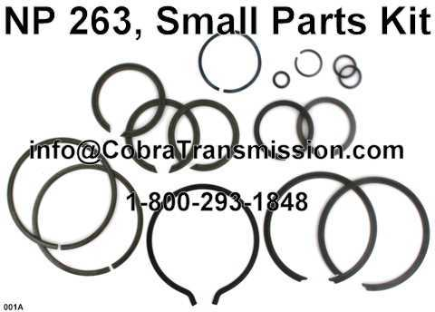 NP 263, Small Parts Kit