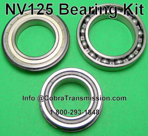 BMW X5 Transfer Case NV125 Bearing Kit