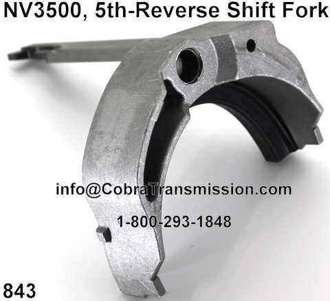NV3500 5th-Reverse Shift Fork