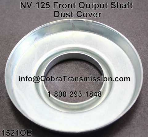 NV-125 Front Output Shaft Dust Cover