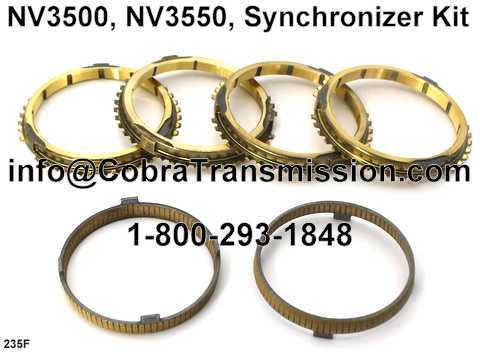 NV3500, NV3550, Synchronizer Kit