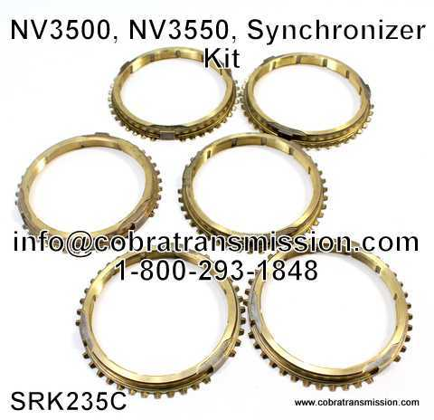 NV3500, NV3550 Synchronizer Kit