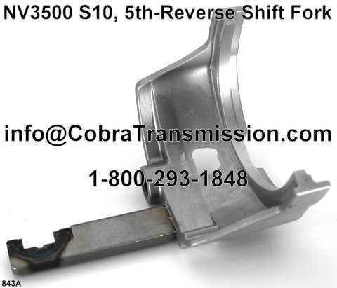 NV3500 5th-Reverse Shift Fork S10 Dakota