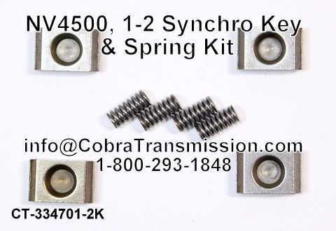 NV4500, 1-2 Synchro Key & Spring Kit
