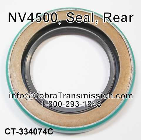 NV4500, Seal, Rear