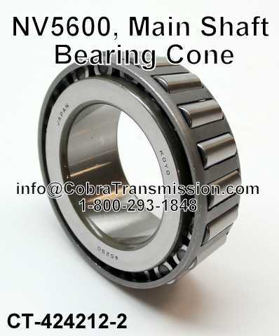 NV5600, Main Shaft Bearing Cone