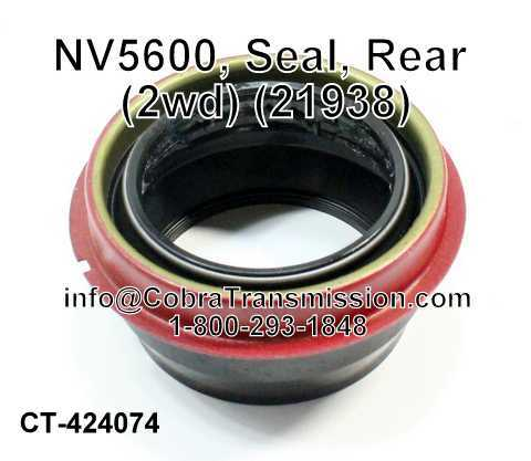 NV5600, Seal, Rear