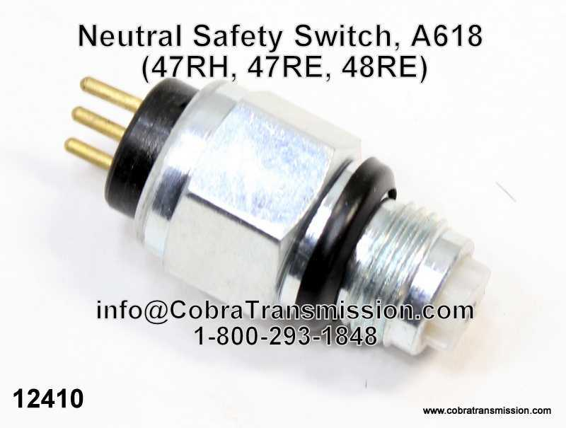 Neutral Safety Switch, A618 (47RH, 47RE, 48RE)