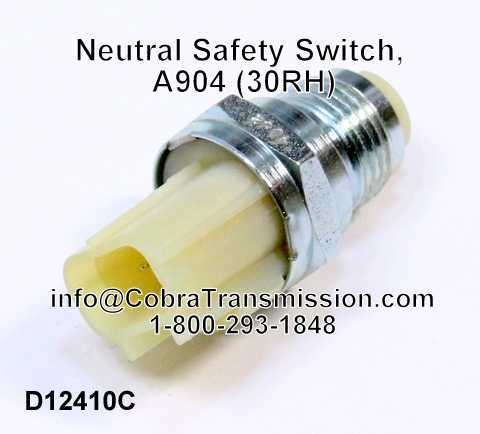 Neutral Safety Switch, A500 (40RH, 42RH, 42RE, 44RE)