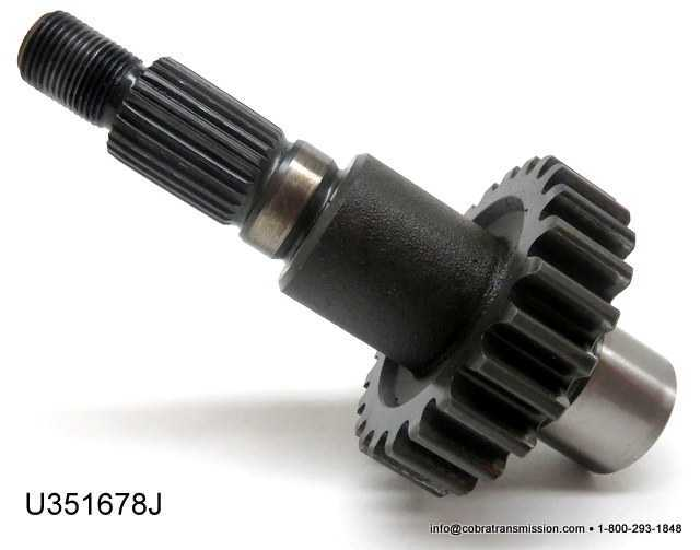 NP231J Front Output Shaft